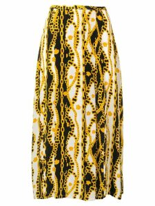 Rixo Georgia printed skirt - Yellow