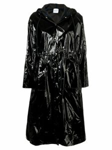 Roseanna varnished effect coat - Black