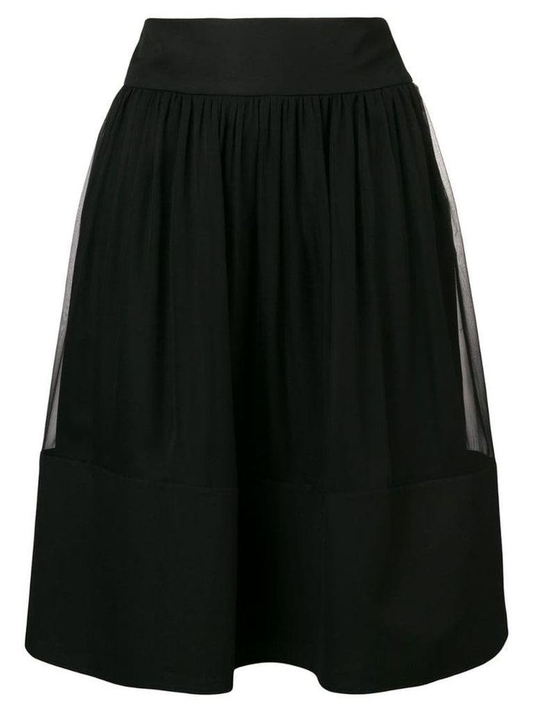Alberta Ferretti flared skirt - Black