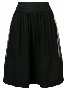 Alberta Ferretti flared skirt - Black
