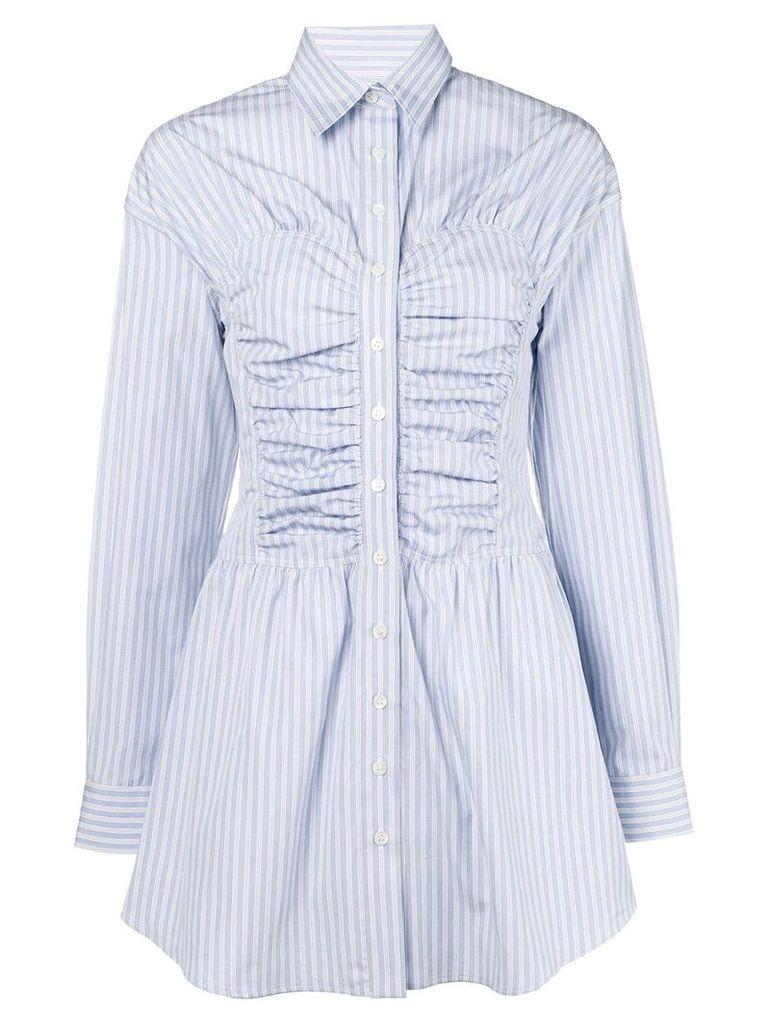 Melampo oversized shirt dress - Blue