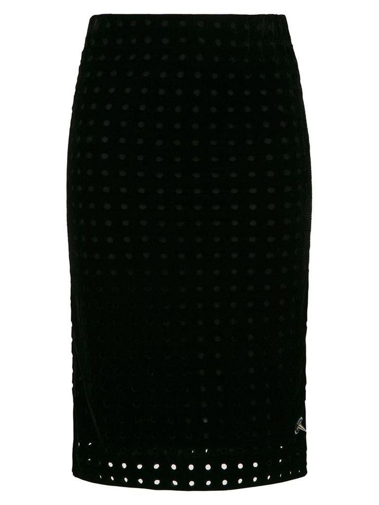 À La Garçonne midi pencil skirt - Black