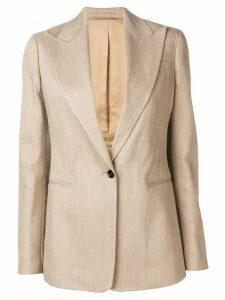 Joseph linen stretch blazer - Neutrals