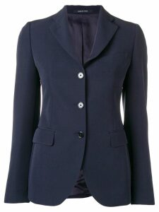 Tagliatore long sleeved blazer - Blue