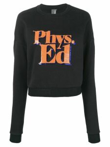 P.E Nation long sleeved sweater - Black