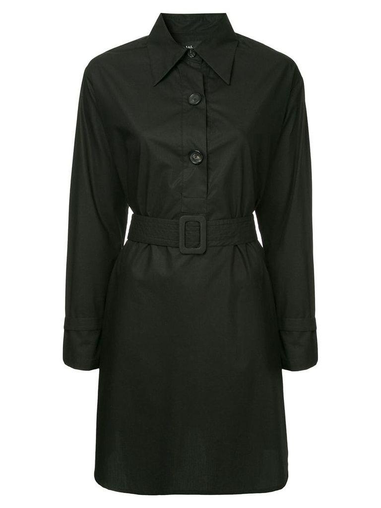 Wynn Hamlyn Research shirt dress - Black