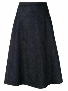 Lanvin flared skirt - Blue
