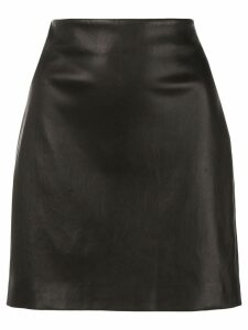 The Row fitted mini skirt - Black