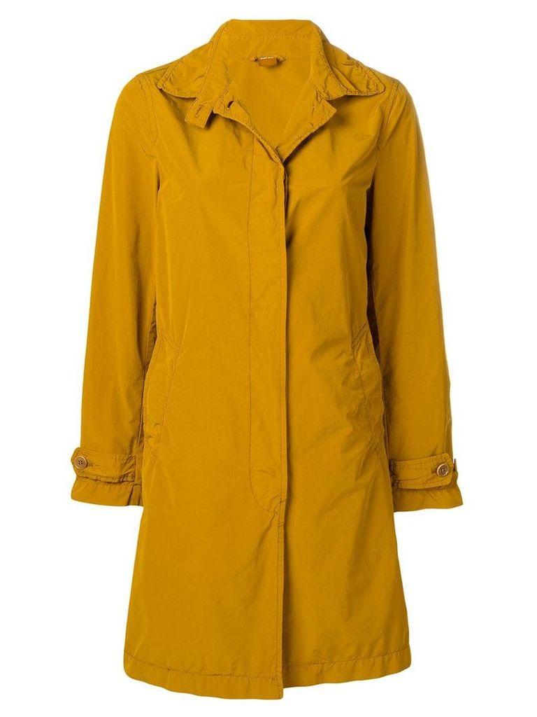 Aspesi single breasted coat - Yellow