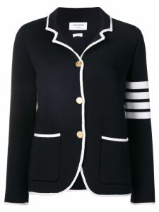 Thom Browne 4-Bar Double-Face Sport Coat - Blue