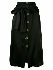 Wynn Hamlyn Spindel knot skirt - Black