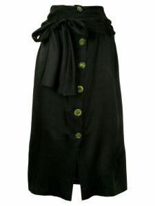 Wynn Hamlyn Spindel knot skirt - Black