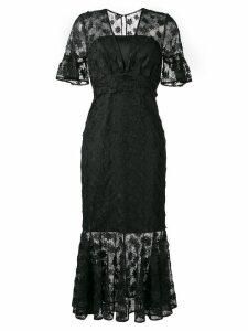 Three Floor Flower Crush dress - Black