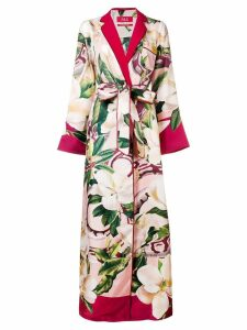 F.R.S For Restless Sleepers floral kimono dress - Red