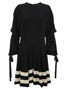 JW Anderson CIRCLE HEM MINI DRESS - Black