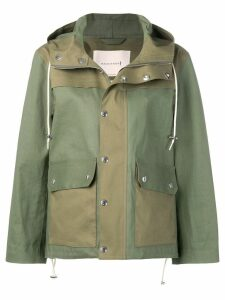 Mackintosh Green & Khaki Bonded Cotton Field Parka GR-117/W/CB