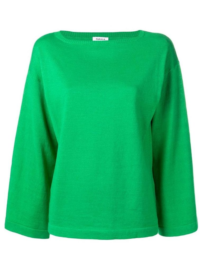 P.A.R.O.S.H. loose-fit jumper - Green