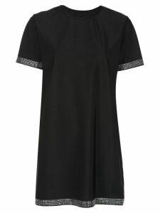 Adam Selman Sport studded T-shirt dress - Black