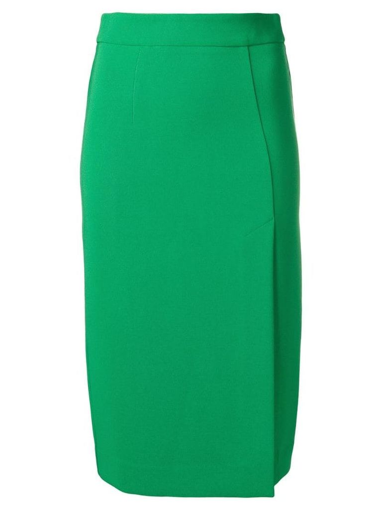 P.A.R.O.S.H. high-waisted midi skirt - Green