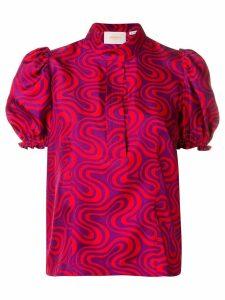 La Doublej shortcake shirt - Purple