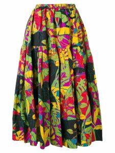 La Doublej oscar ruched full skirt - Green