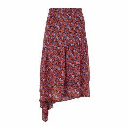Gestuz Rosanna Floral Crepe Skirt