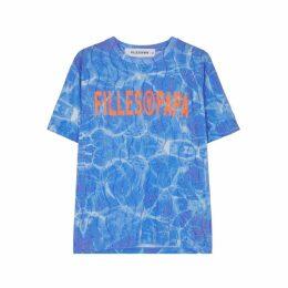 Filles à Papa Printed Crystal-embellished T-shirt