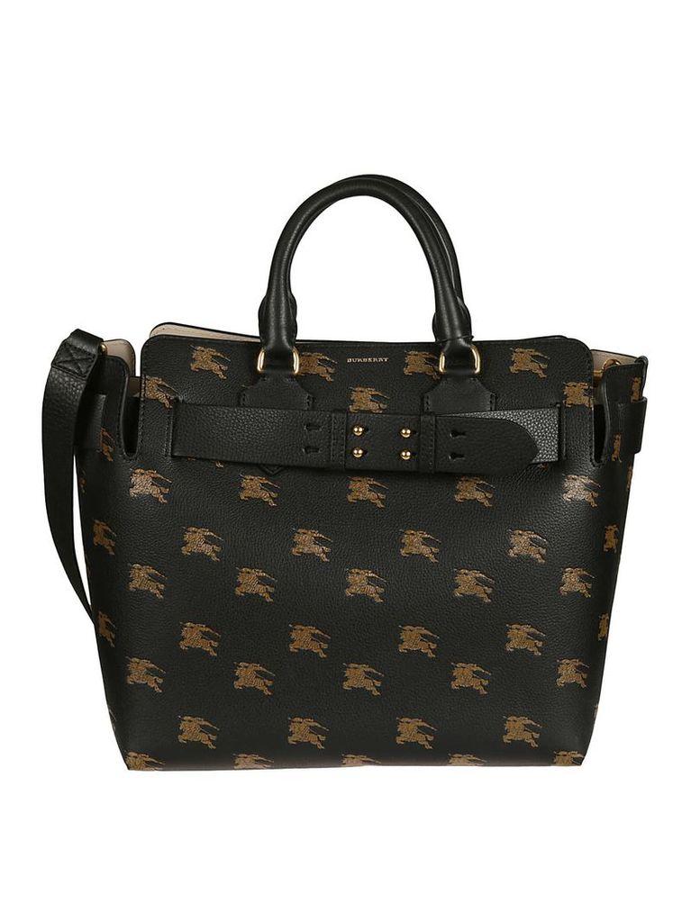 Burberry Medium Belted Equestrian Shoulder Bag