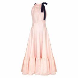 Roksanda Coletta Light Pink Taffeta Dress