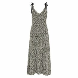 Loewe Metallic Textured-knit Dress