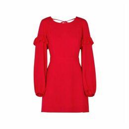 Sundress Margherita Embellished Gauze Dress