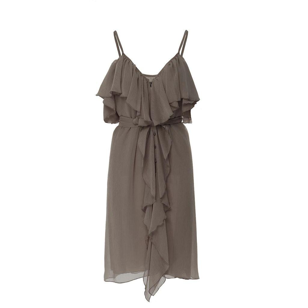 McVERDI - Striped Oversize Spring Coat