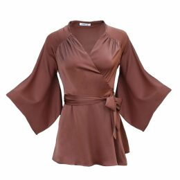Libelula - Tamara Dress Green Dotty Swirl Print