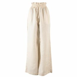 McVERDI - Blue Tunic Dress With Flower Print