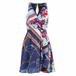 Morgan  ROULY  women's Dress in Multicolour