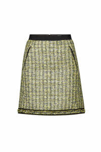 Karl Lagerfeld Boucle Mini Skirt with Sequins