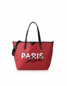 Karl Lagerfeld Designer Handbags, K/City Shopper Paris