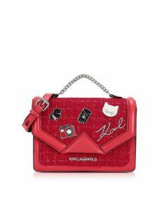 Karl Lagerfeld Designer Handbags, K/Klassic Pins Medium Shoulder Bag