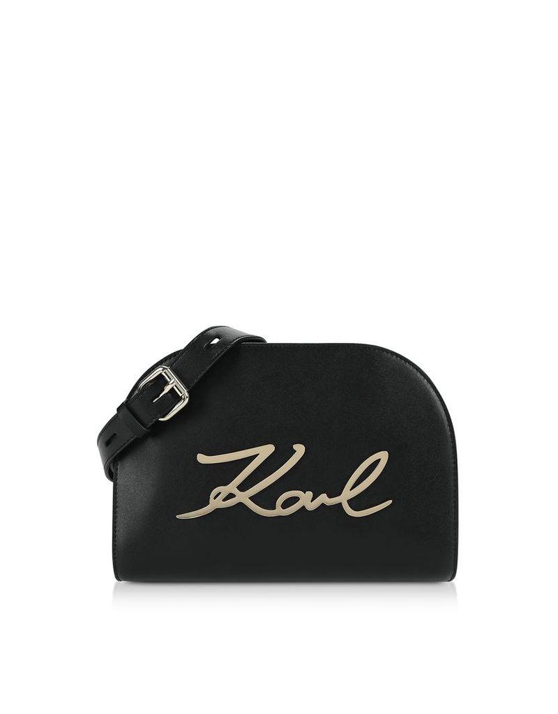 Karl Lagerfeld Designer Handbags, K/Signature Large Crossbody Bag