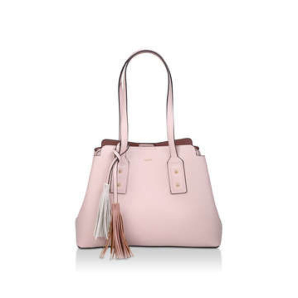 Aldo Darolea - Nude Tote Bag With Tassel Details