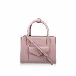 Carvela Caz Pckt Front Mini Tote - Pink Mini Tote Bag