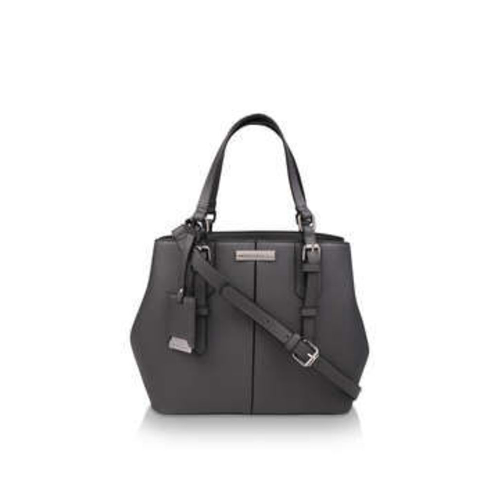Carvela Mini Danny Slouch Tote - Grey Mini Tote Bag