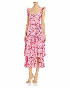 Likely Tiered Floral-Print Dress