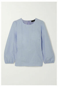 J.Crew - Rory Cotton-blend Top - Blue