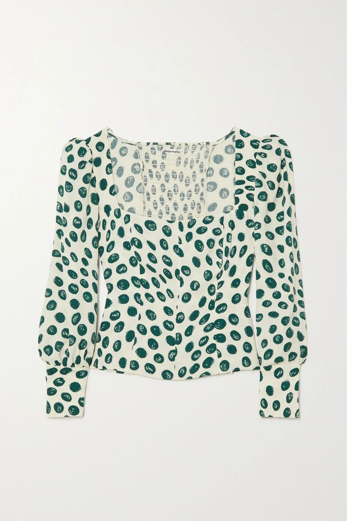 The Row - Paycen Belted Ponte Coat - Emerald