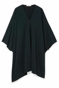The Row - Iona Stretch-crepe Dress - Emerald
