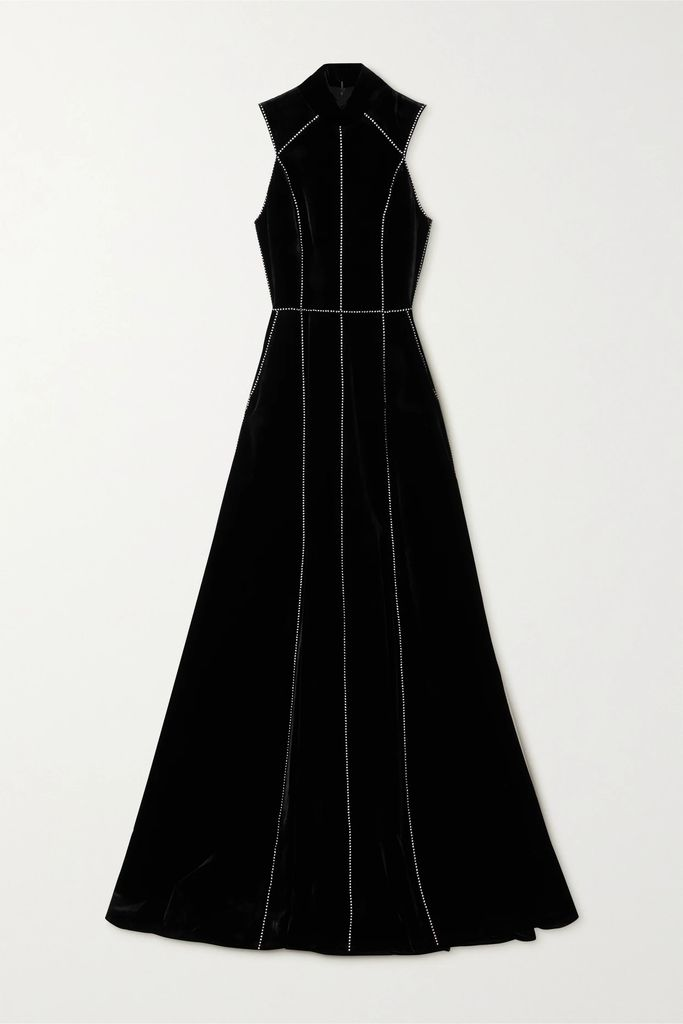 Commission - Fanny Leopard-print Satin-twill Skirt - Leopard print