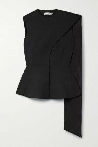 The Vampire's Wife - Festival Metallic Silk-blend Georgette Midi Dress - Pink