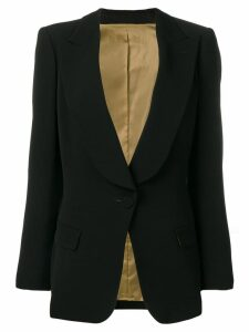 Jean Paul Gaultier Pre-Owned fitted blazer - Black