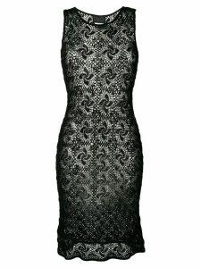 Dolce & Gabbana Pre-Owned sleeveless crochet dress - Black